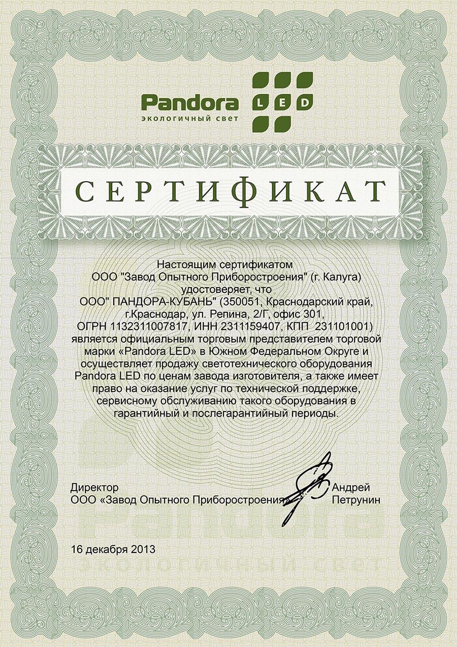 sertifikat-pandora